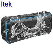 Itek Portable Power Wireless Outdoor Sport Bluetooth 4.1 Speaker Waterproof Bass Speakers Handsfree Support FM Radio TF Card AUX