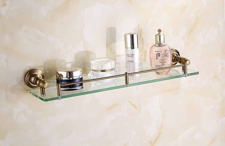 Стеклянная полка - полка для ванной аксессуары для ванной
