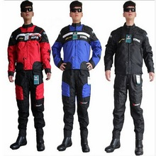 DUHAN D020 racing suit Jacket Pants men motocross motorcycle riding clothes clothing Jackets pant trousers drop resistance