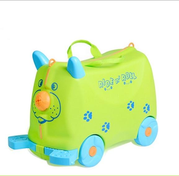 Toy-Box Luggage Animal-Locker Can-Sit-To-Ride Suitcase1.8l-Boy Baby Children Gift Creative
