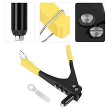 Investment Heavy Duty Hand Rivet Kit Riveter Nozzle Wrench Compact Riveting Tool Pliers YU-Home lowestprice