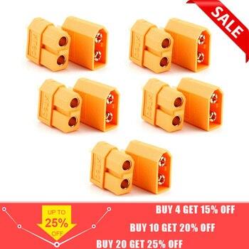 10/20 pièces XT60 XT-60 mâle femelle connecteurs de balle bouchons pour batterie RC Lipo (5/10 paire) vente en gros
