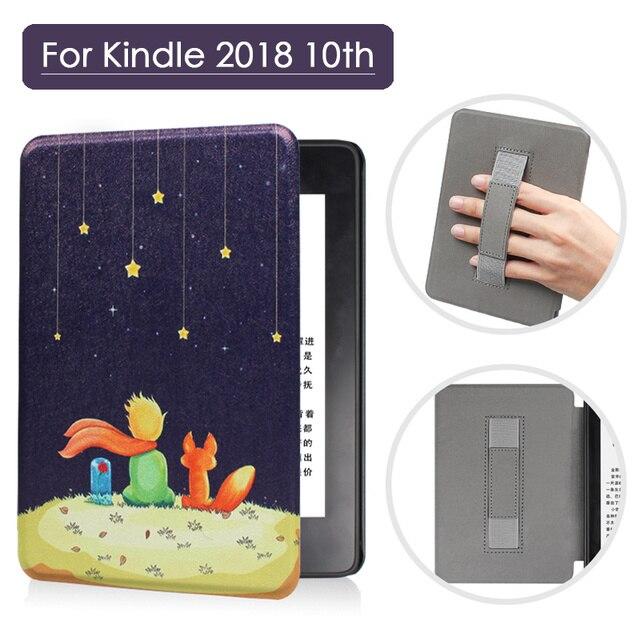 Funda inteligente magnética para nuevo Kindle 2018 Paperwhite 10 generación funda para Amazon Kindle Paperwhite 4 funda liberada