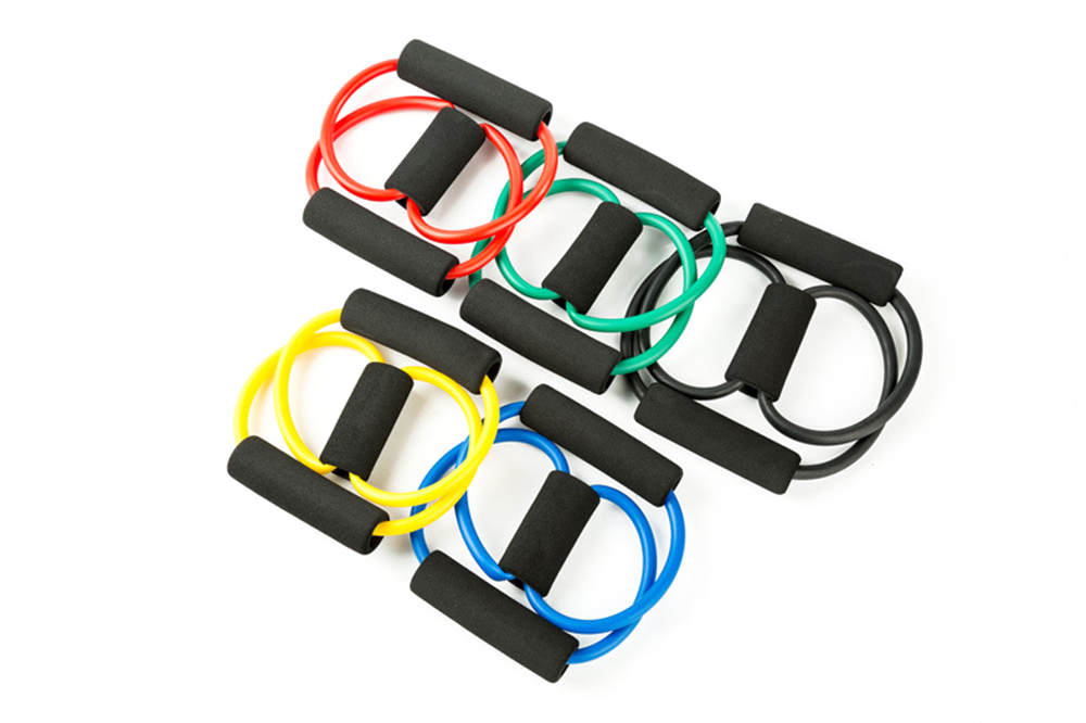 Yoga Resistance Bands Elastic Band Sports Exercise Puller 8-shaped Chest Expander  for Body Building Home Gym Fitness Equipment (5)