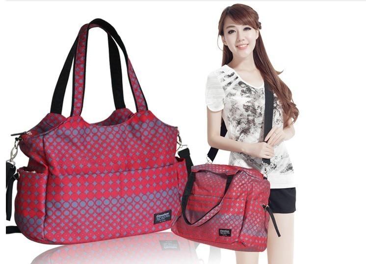 Landou Fashion multifunktionale babywindel taschen bolsa maternidade windel taschen mumie mutterschaft taschen handtasche schulter baby tasche tote