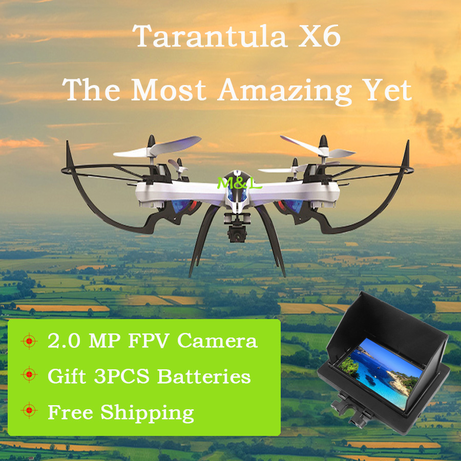 Hot sale 5MP FPV Drone JJRC H16 YiZhan Tarantula X6 RC Quadcopter 6-Axis 2.4GHz Helicopter with Professional Hd Camera Free ship