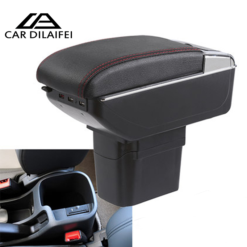 Car Armrest Central Store Content Storage Box Case For Chevrolet Cruze With Cup Holder Ashtray Car Accessories 3 Color 2009-2014 2014 hotsale silicon car key cover for chevrolet cruze 2009 2014 sedan hatchback accessories car key cover case