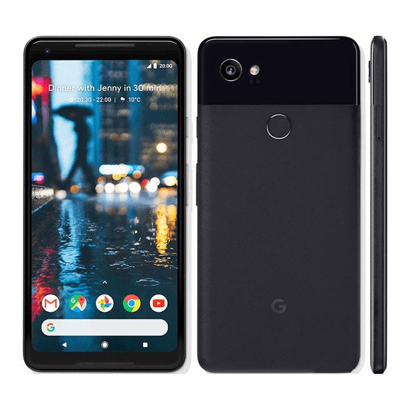 Фото. Мобильный телефон Google Pixel 2 XL с европейской версией, Восьмиядерный процессор Snapdragon 835, 4
