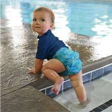 От 6 месяцев до 2 лет Детские Плавание Одежда для маленьких
