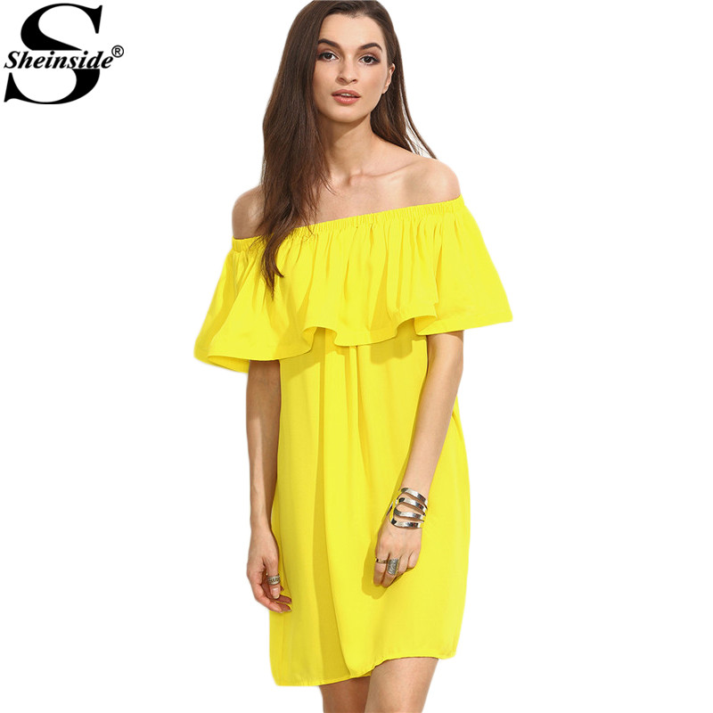 Online Get Cheap Short Yellow Dress -Aliexpress.com  Alibaba Group