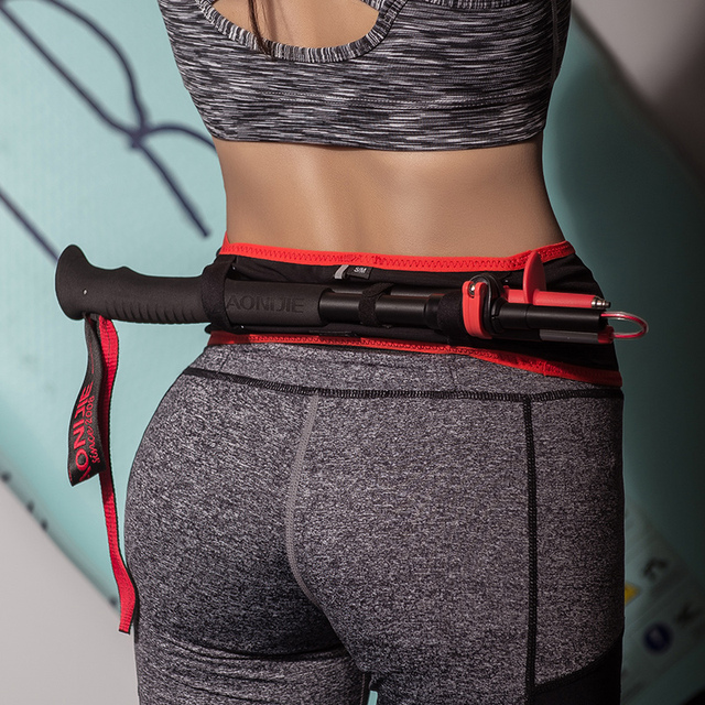 AONIJIE W938 Slim Running Waist Belt Jogging Bag Fanny Pack Travel Money Marathon Gym Workout Fitness 6.9 in Mobile Phone Holder