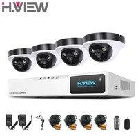 H View 4CH CCTV System 2 0MP CCTV Camera Home Security Video Surveillance Kit 1080P AHD