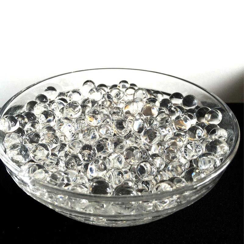 600 частиц в пакете прозрачных кристаллов орбиз гидрогель почвы воды бусин грязи растут Волшебные желейные шарики свадебный домашний декор ...