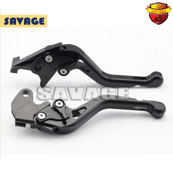 ФОТО For YAMAHA BT1100 03-06, FZS 600 FAZER 98-03 Black Motorcycle Accessories CNC Aluminum Short Brake Clutch Levers