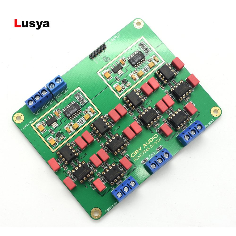 Latest Hi Fi Parallel PCM1794A DAC Audio Decoder Assembled Board 24Bit 192kHz F3 013