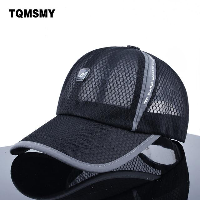 Unisex summer bone quick drying baseball caps men light soft hat woman s  meshs snapback cap Breathable f0732d8d53ce