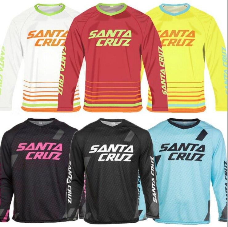 Nouveau Racing MAVIC descente Jersey VTT moto cyclisme maillot Crossmax chemise Ciclismo vêtements pour hommes vtt MX t-shirt
