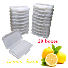 20 boxes/lot Dental Orthodontic Protection Ortho Wax for Brace Irritation Lemon Scent Flavor Oral Hygiene