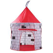 Shop owner recommended Tent Outdoor Toy   Folding Children Kids Play Knight Castle Tent In/Outdoor Toy House Boys Girls