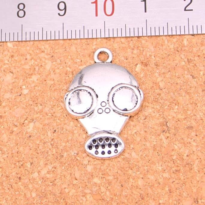 Necklaces & Pendants 2019 Fashion 20pcs Antique Silver Color Gas Mask Steampunk Pendant 28*19mm Leather Chain Necklace Black Leather Cord Necklace Pendant Necklaces