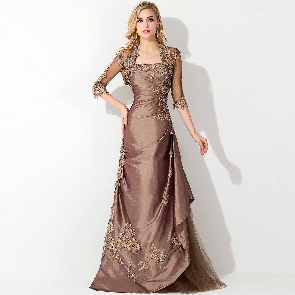 Lace Jacket Mother Of The Bride Dresses With Jacket Formal