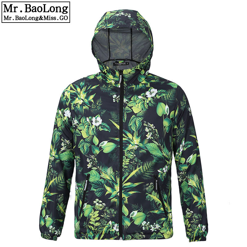 2017 Spring Autumn New Men's Camouflage Windbreaker Jacket Lovers Quick Drying Sunscreen waterproof Jackets Men Coats Outerwear