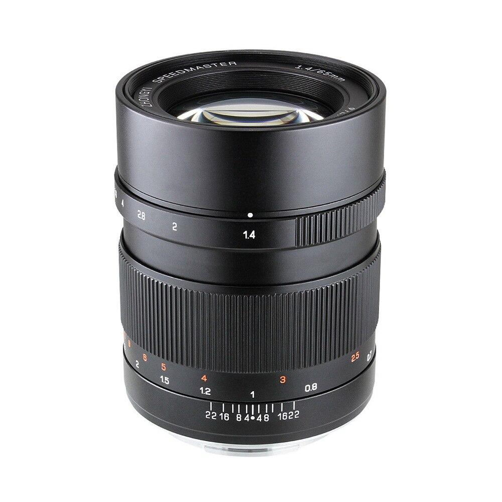Zhongyi Mitakon Speedmaster 65mm f/1.4 objectif de mise au point manuelle pour appareil photo sans miroir de Format moyen Fuji GFX mount 50 S 50R