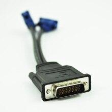 Новый Стиль, Новые 3.5 см/5.3 «dms-59 Контактный 2 Dual VGA 15 Pin Женский Splitter Кабель-Адаптер