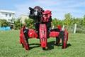 Criaturas de Combate RC Batalla Nerf TerraDrone Araña Robot de Control Remoto con 12 Dardos 2.4G Niños Modelo Juguetes Regalos