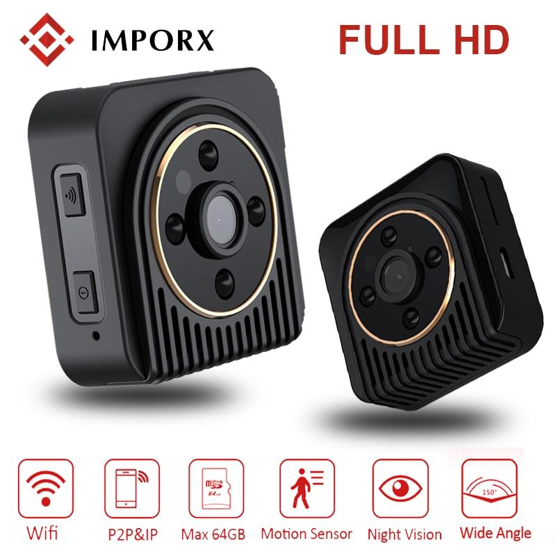 720P HD H5 Wifi Mini Camera H.264 Wireless IP Camera Infrared Night Vision Micro DV Camera Wide Angel 150 Degree Mini Camcoeder