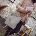 3pcs Designer Women's Handbags High Quality Three Piece Bag Casual Ladies Leather Top Handle Bags Fashion Messenger Bags Clutch