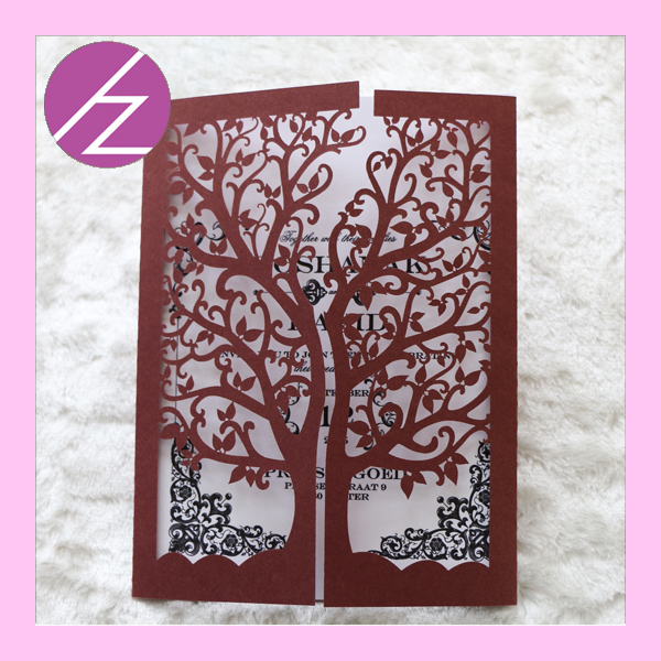 Blue 12pcslot hot new laser cut chic tree design wedding blue 12pcslot hot new laser cut chic tree design wedding invitations wedding decoration party paper craft greeting cards in cards invitations from home junglespirit Choice Image