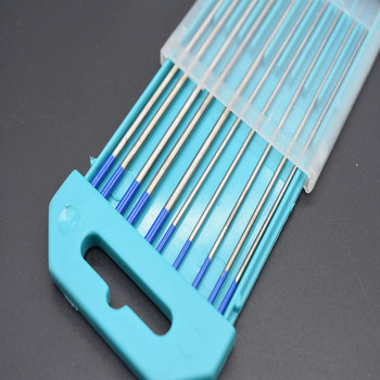 2% Lanthanated WL20 wig-сварочная стержней Вольфрам электрода 1,6 мм x 150 мм + 2,4 мм x 175 мм для сварки Инструменты 10 шт./компл.