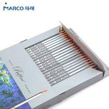 Marco Raffine Fine Art crayons de couleur 72 Couleurs Dessin Croquis Mitsubishi Couleur Crayon Fournitures Scolaires Garde Secrète Crayon