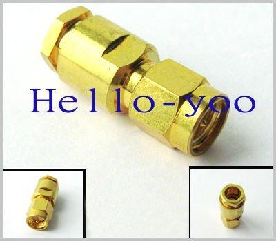 Free shipping   (20 pieces\lot)  SMA male plug Straight clamp connector for LMR240 RG59 LMR300