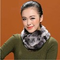 Rabbit fur scarf female rex rabbit hair muffler scarf fur scarf female thickening thermal collars full leather fur collar