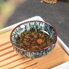 1 pcs Chinese ceramic marble pattern glaze color personal tea cup kitchenware