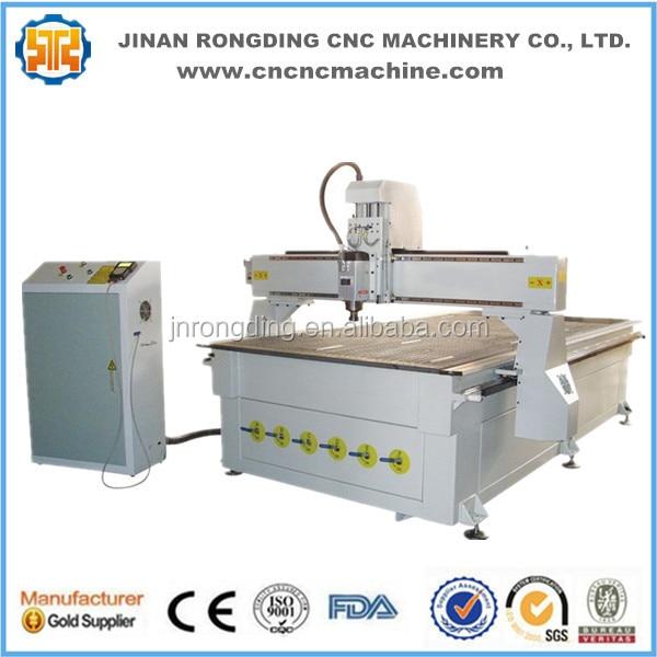 Snadné ovládání Čína cnc stroj, dřevo cnc cena stroje, cnc - Zařízení na obrábění dřeva - Fotografie 5