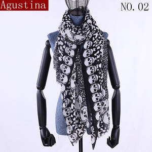 Agustina cotton scarf womens long shawls and wraps 8bcd26e99c7