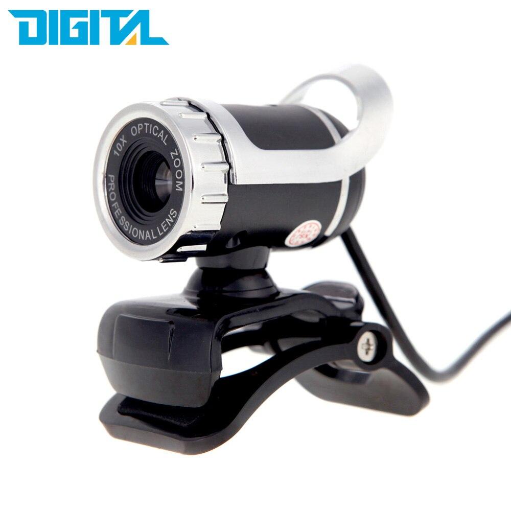США со 12 мегапикселей HD веб-Камера USB 2.0 веб-360 градусов веб-камера с звукопоглощение микрофон для компьютера портативных ПК