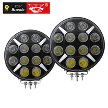2018 1pc smart bluetooth app control rgb led safety whips light for suv atv utv off road camp locator flag light crystal clear WINING 2pcs 120W Led Work Light 12V IP67 Flood Fog Lamp Off Road ATV UTV Work Light For Off road Motorcycle SUV Train Bus Boat