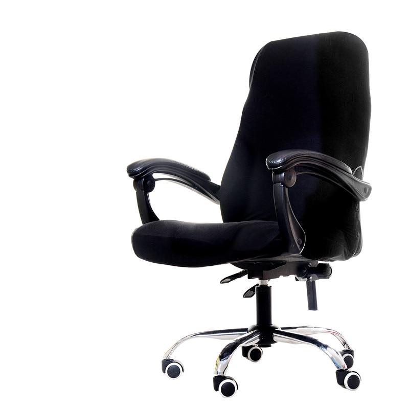 Qualité solide Spandex chaise couverture pour bureau cuisine partie salle à manger siège housse de protection ordinateur chaise couvre housse de chaise