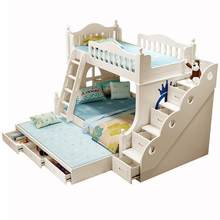 Mobili Per La Casa Single Lit Enfant Quarto Letto A Castello Mueble De Dormitorio Cama Moderna bedroom Furniture Double Bunk Bed(China)