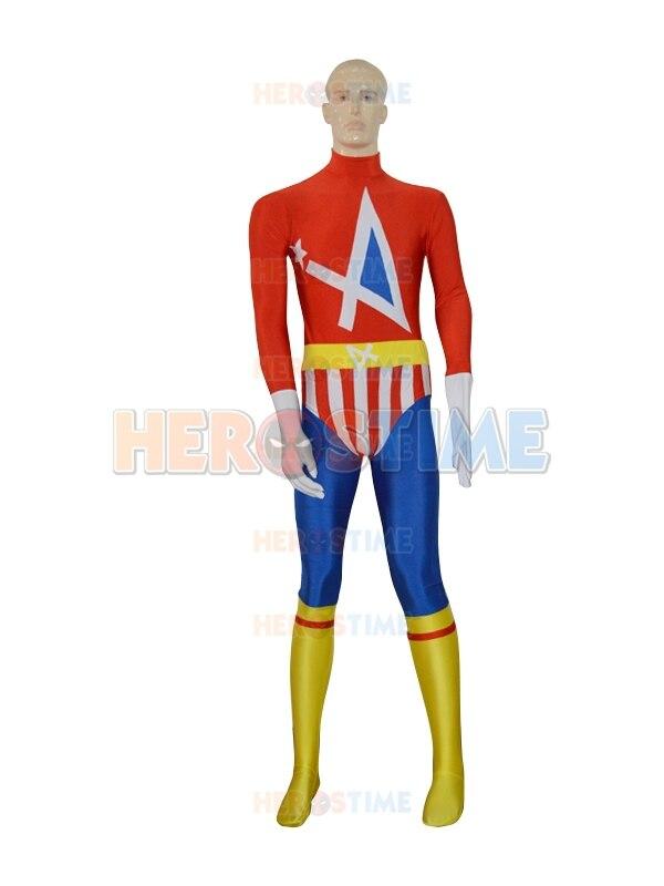 Envío gratis el más nuevo traje de superhéroe Spandex multicolor - Disfraces - foto 3