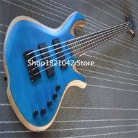 High quality active 5 string bass guitar bass guitarra instrumento musical