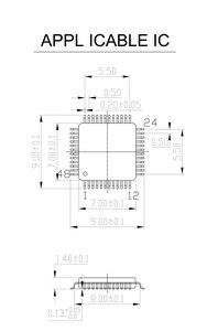 Image 5 - QFP48 TQFP48 LQFP48 to DIP48 MCU Programmer Pitch 0.5mm IC Body Size 7x7mm IC51 0484 806 Test Socket Adapter