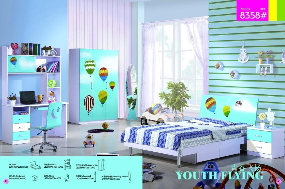 Bedroom Set Furniture 2018 Kids Table And Chair Child Desk Meuble Enfant New Time-limited Wood Loft Bed Set Childrens Bunk Beds