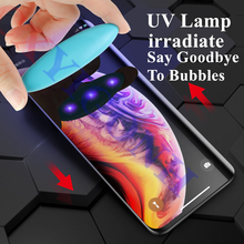 3D UV Liquid Full Glue for iPhone6S 6 7 8 X XS XR Tempered Glass for iPhone 6 6S 7 8 Plus Protective Film XSmax Screen Protector цены