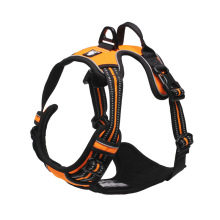 Truelove Reflective Nylon Dog Harness Vest Adjustable No Pull Safety Vehicular Dogs Collars and Harnesses for