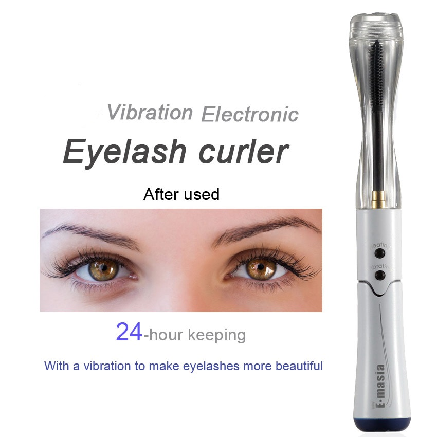 New Vibrator Professional Heated Eyelash Curler Makeupelectricity